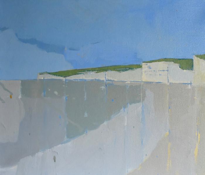 Birling Beach | 2011 | Oil on canvas | 34 x 46 cm