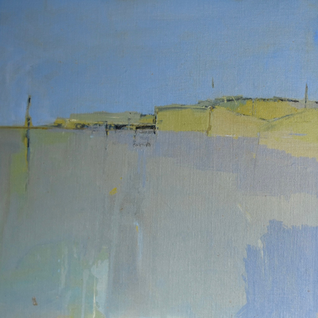 Cuckmere | 2010 |Oil on board | 46 x 46 cm