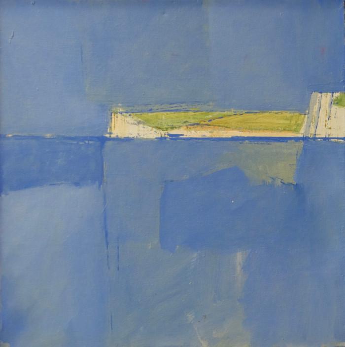 Seaford Head II | 2013 | Oil on canvas | 42 x 42 cm