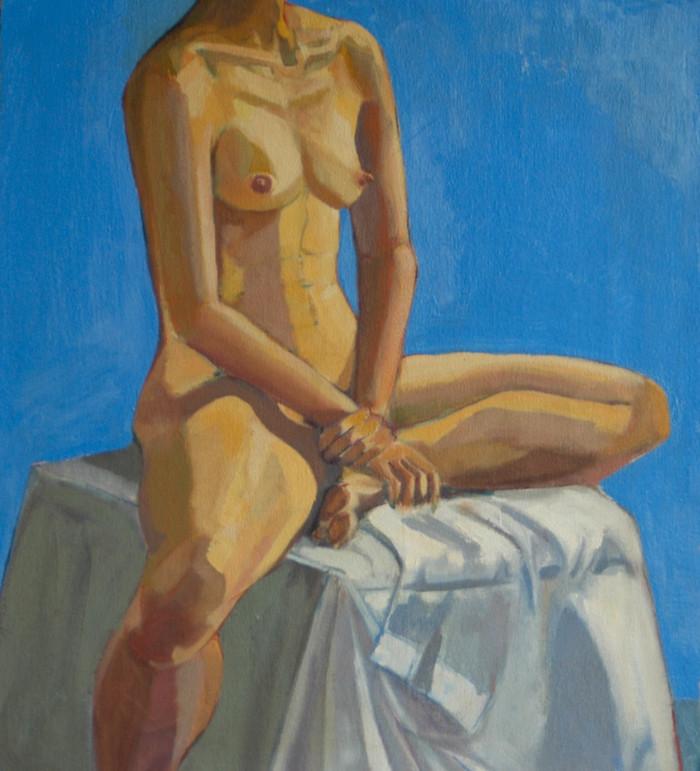Yuki | 1992 | Oil on canvas | 58.5 x 53.5 cm