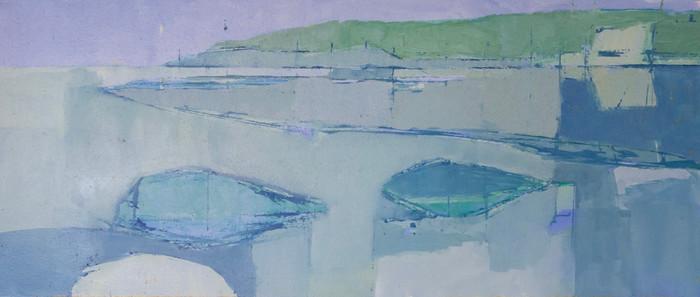 Hollywell | c.2011 | Oil on board | 30.5 x 72.4 cm