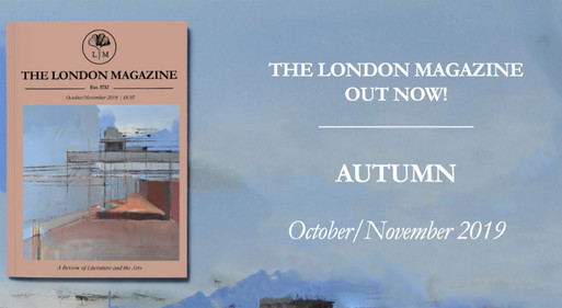 London Magazine - featuring cover by Steven Heffer