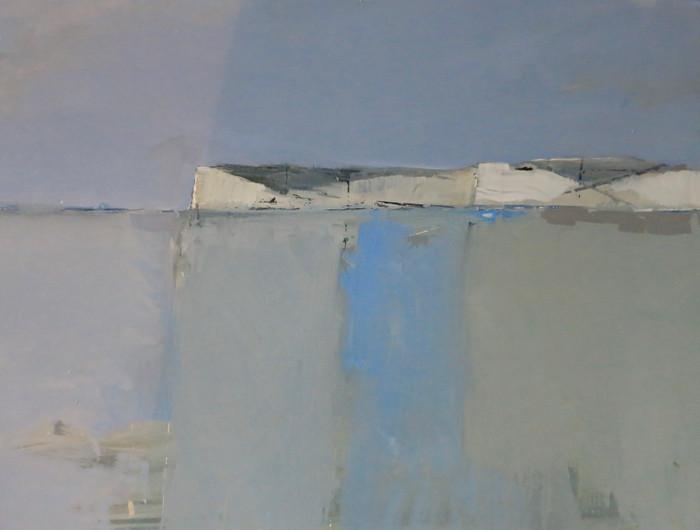 West from Birling | 2010 | Oil on board | 46 x 56 cm