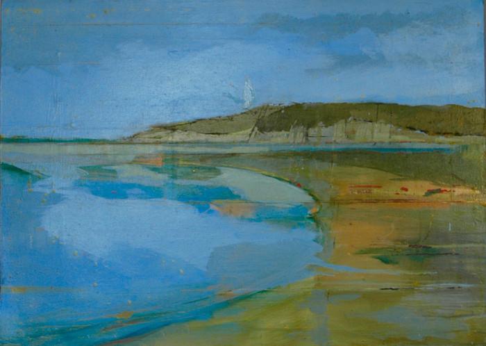 Hollywell | c.2010 | Oil on canvas | 40 x 55.5 cm