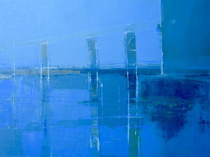 Estuary IV   c.2013   Oil on canvas   30.5 x 40.6 cm