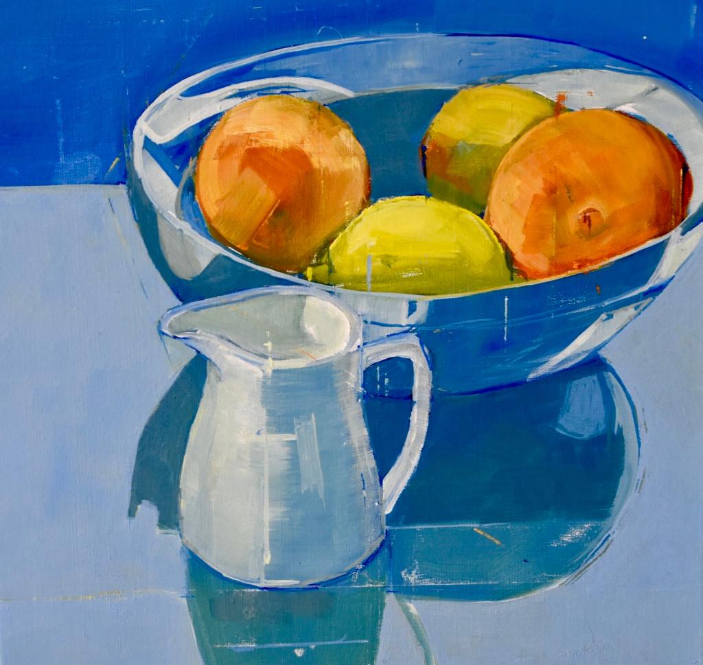 Still life blue | 2012 | Acrylic on canvas | 30 x 41 cm