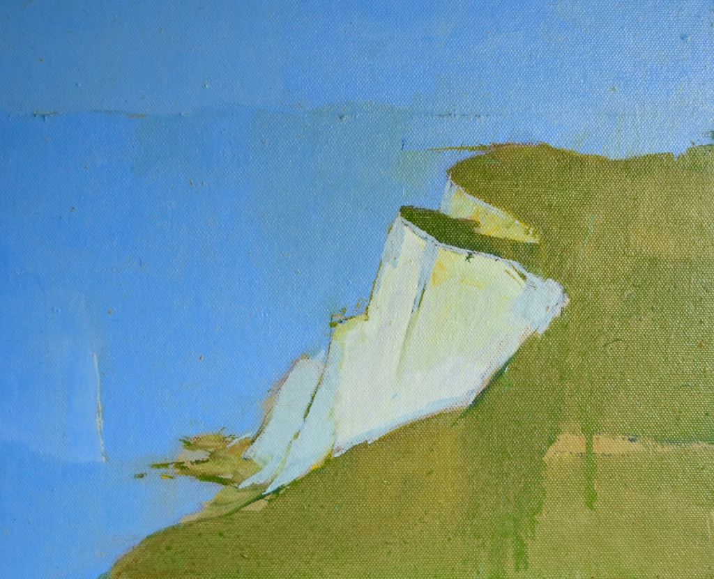 Beachy Head | c.2011 | Oil on board | 29 x 34 cm