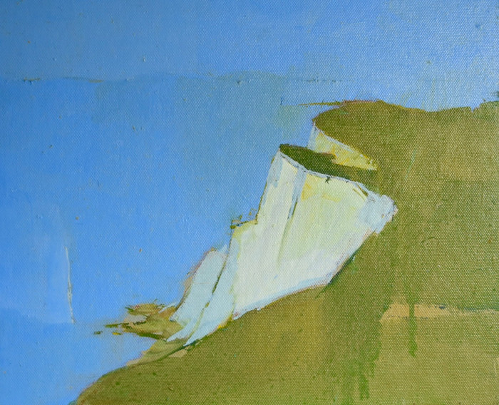 Beachy Head | c.2011 | Oil on board | 29 x 34 cm