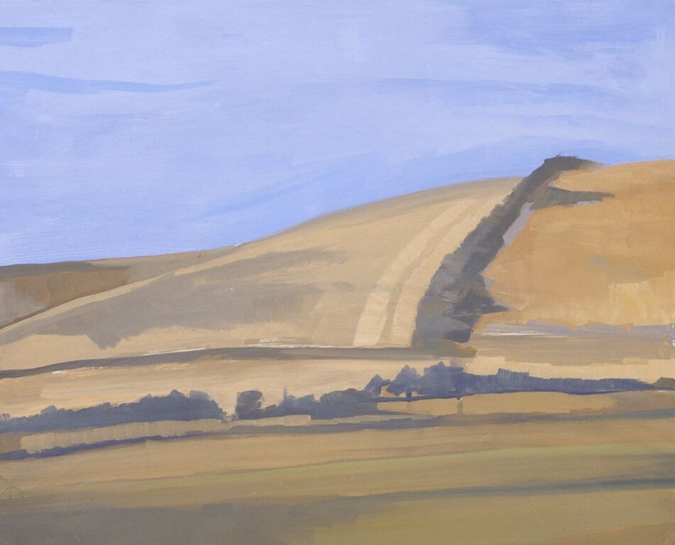 Near The White Horse | 2010 | Oil on board | 46 x 56 cm
