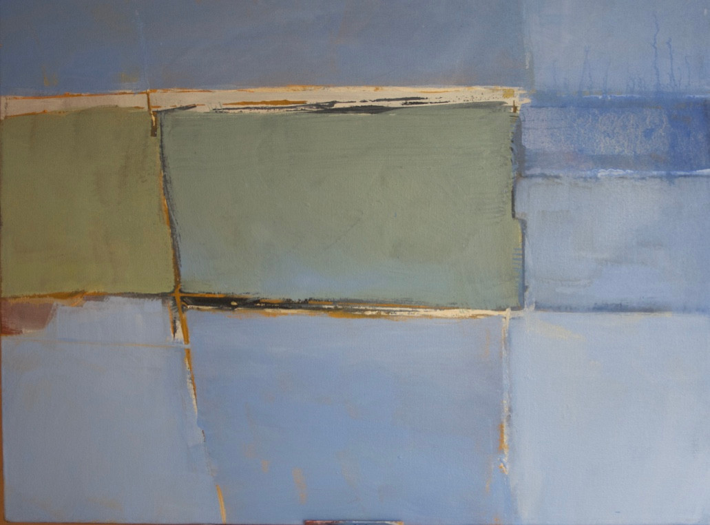 Land/sea | c.2014 | Oil on canvas | 50.8 x 61 cm