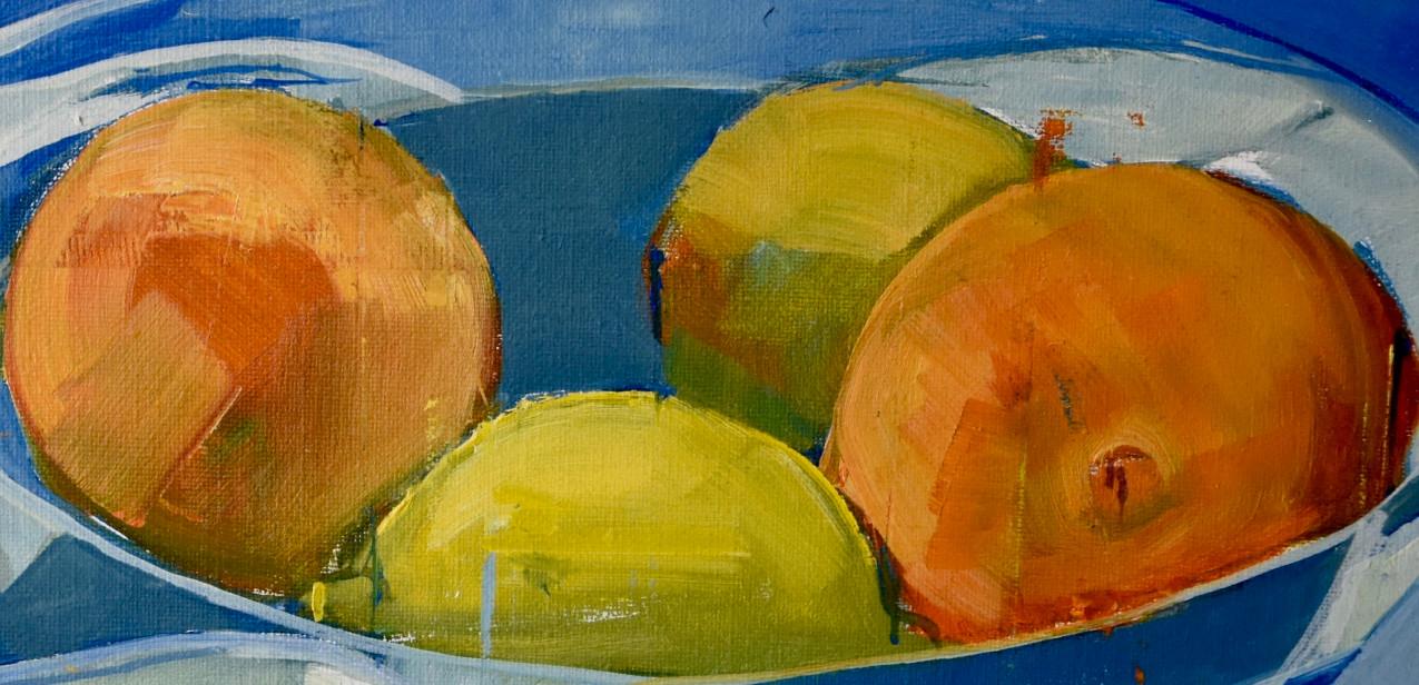 Still life blue | 2012 | Acrylic on canvas | detail