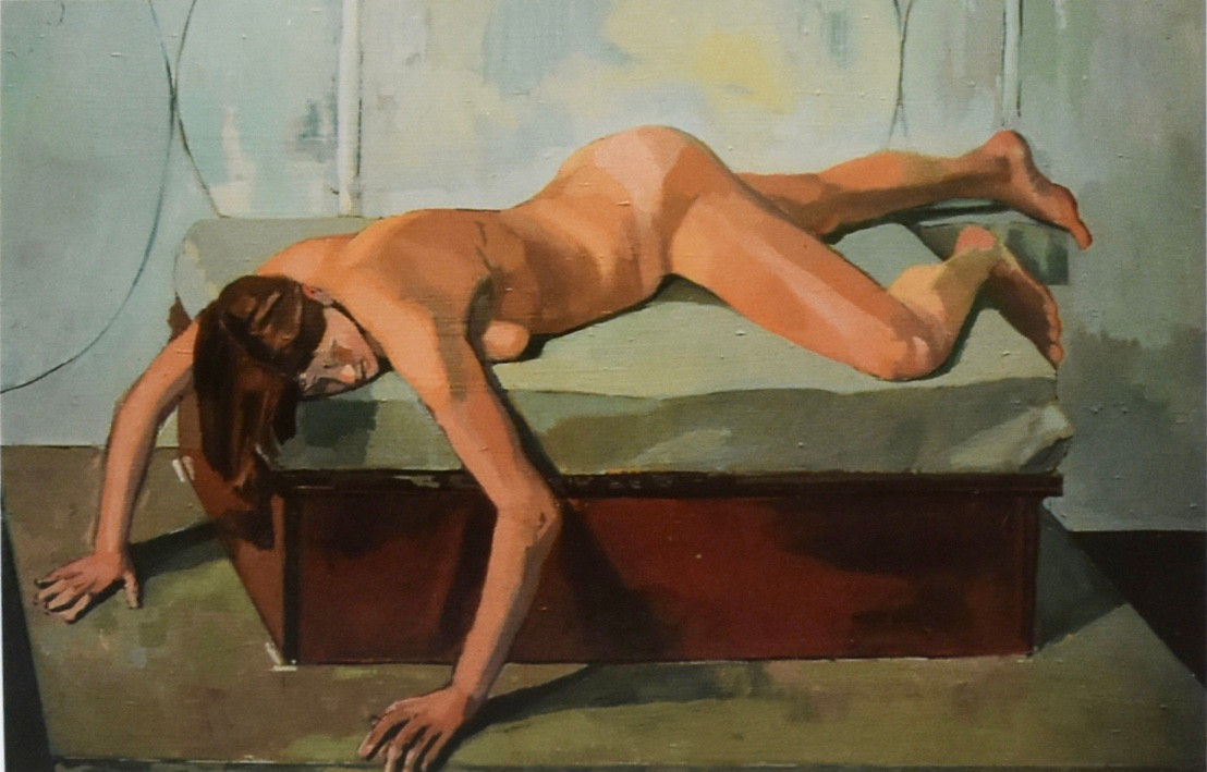 Sonia | 1993 Slade Life Room | Oil on canvas | 61 x 91 cm