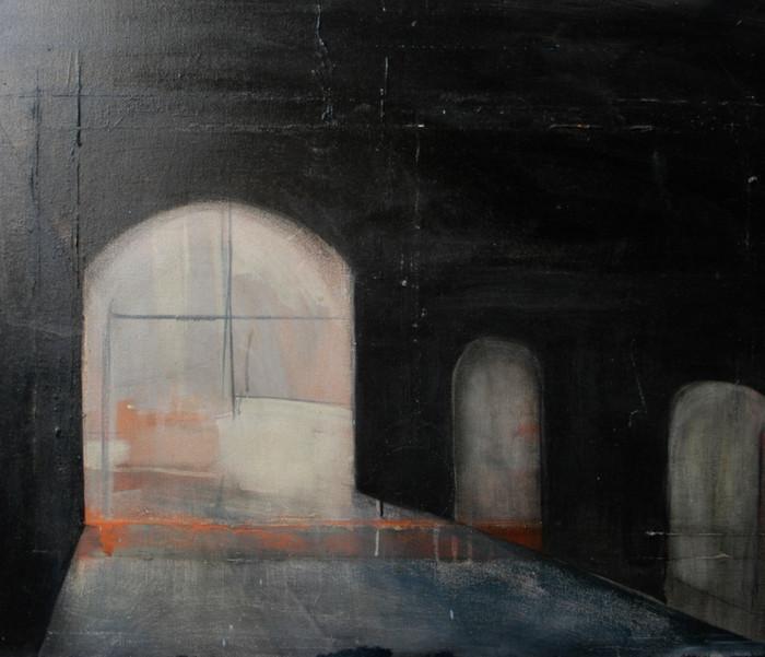 Under Smithfield   2004   Oil on canvas   61 x 91.4 cm