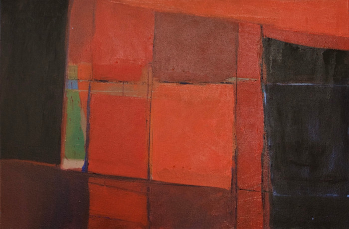 Untitled | c.2014 | Oil on canvas | 54 x 79 cm