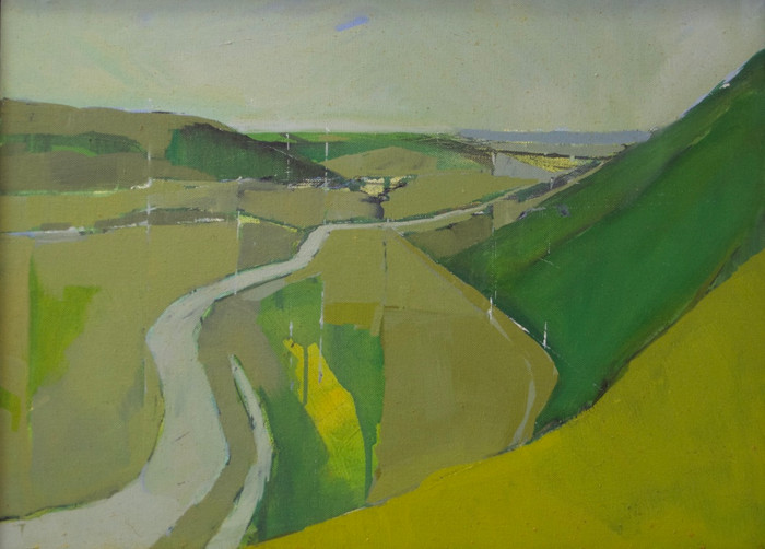 From Frog Firle | 2011 | Oil on canvas 46 x 60 cm