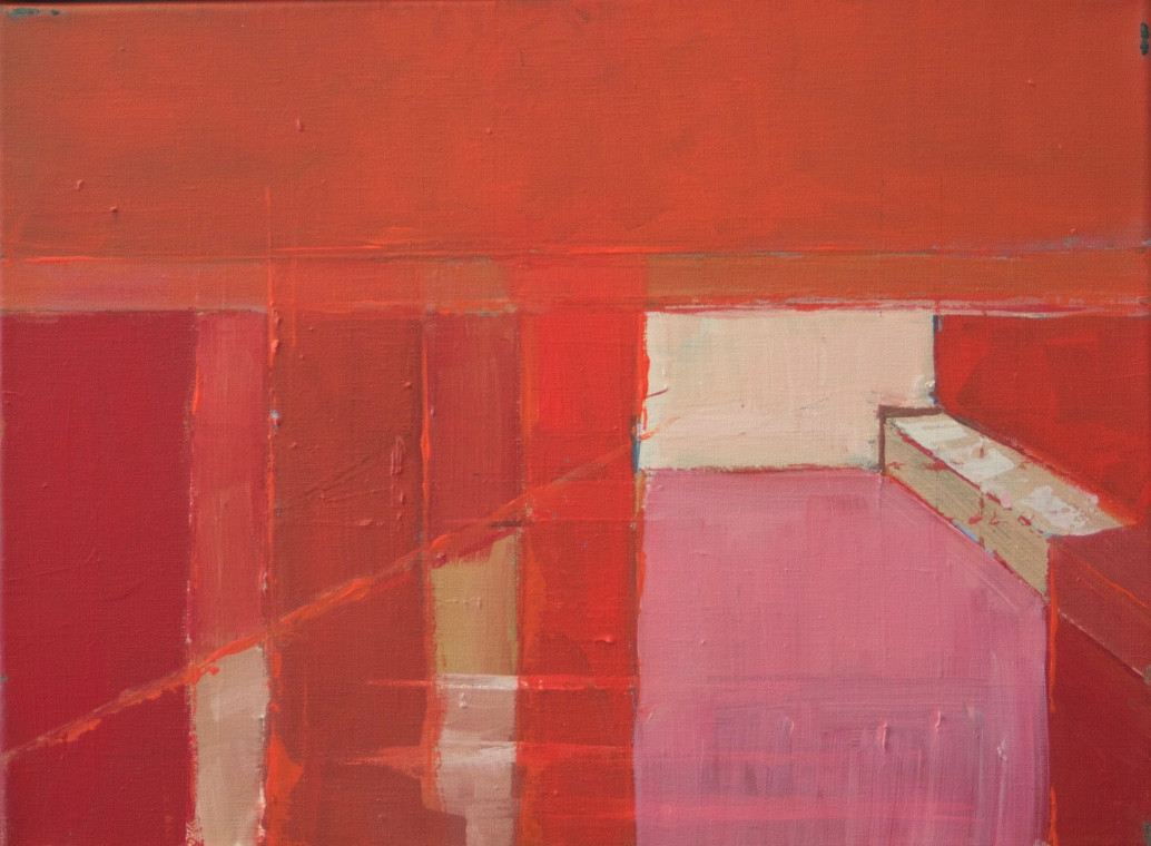 Regent's Canal II | 2013 | Oil on canvas | 32 x 42 cm