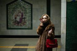 Girl With Red Phone_Kazan 2018