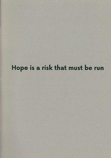 HARTMANN BOOKS: Robert Adams - Hope is a risk that must be run