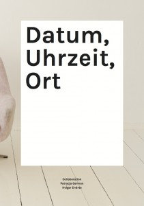 Datum, Uhrzeit, Ort - Collaboration German/Endres