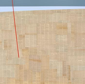 Jakub Elwertowski, Plaza II_ Strand II, 2019, Collage, 120x120