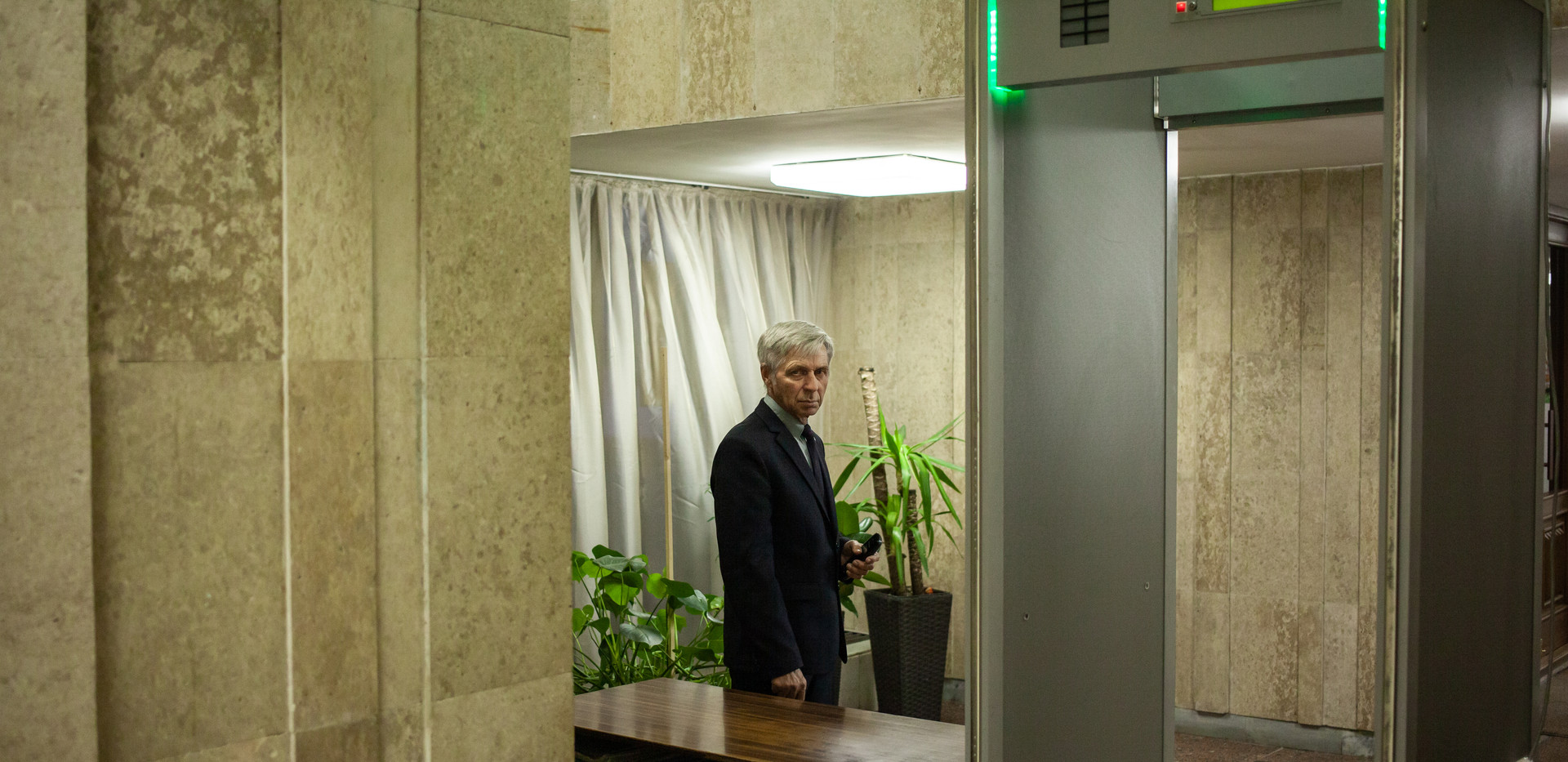 Guard In Museum, Kazan 2018.jpg