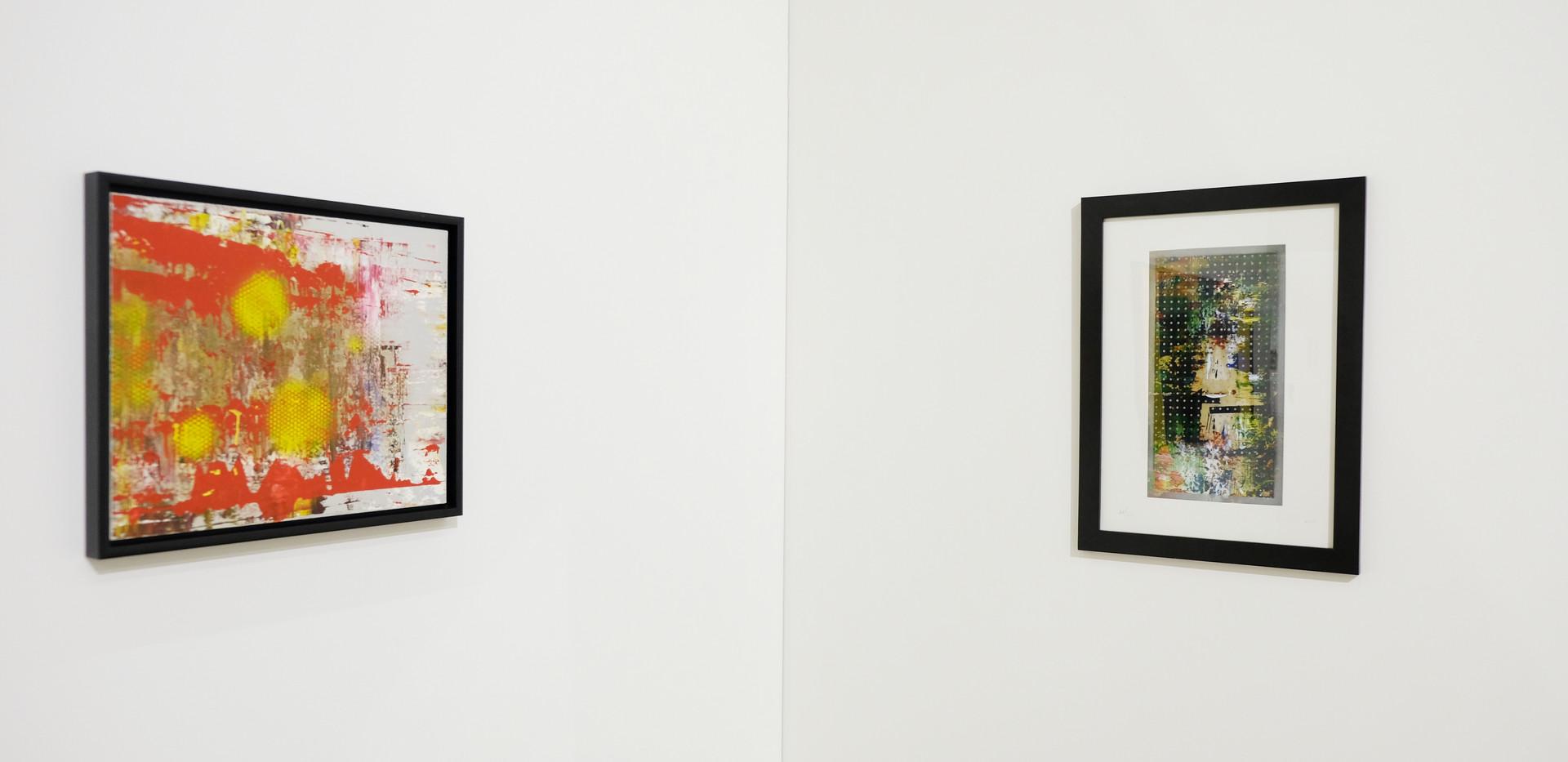 Herbert A. Jung Ausstellungsansicht