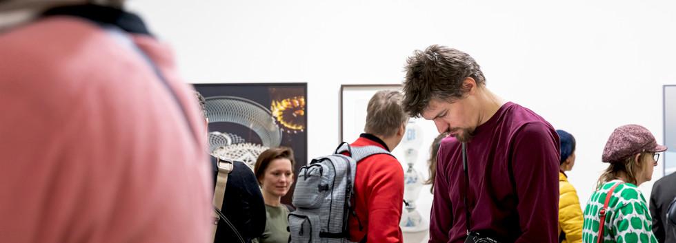 """Eröffnung der Ausstellung """"Between Art and Commerce"""""""