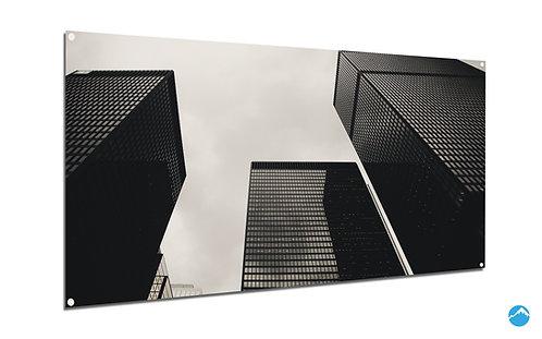 Modern Gebäude Grau