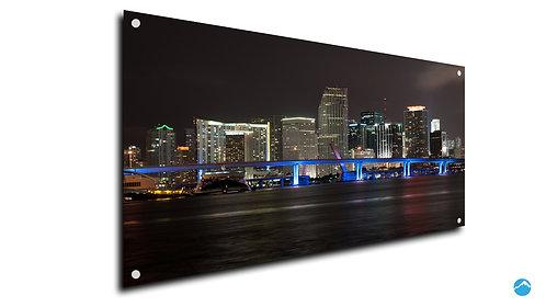 Skyline Nacht Brücke