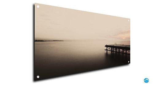 Steg Lake Fog Nebel