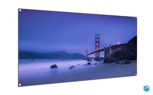Blue Fog Brücke San Franciso