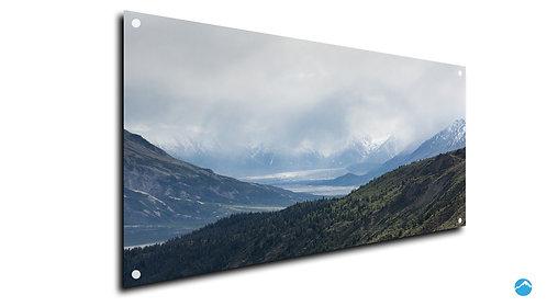 Berg Grün Landschaft