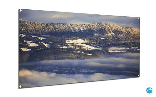 Wolken See Berge