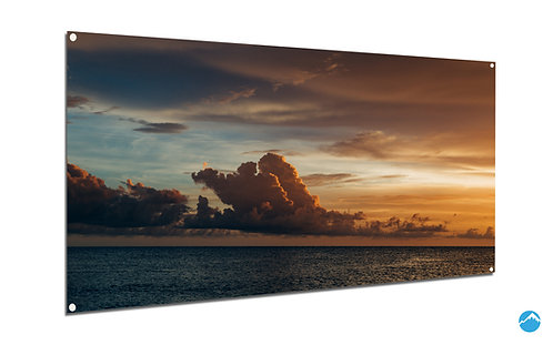 Sunset Clouds Meer