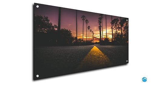 Straße Los Angeles Sunset