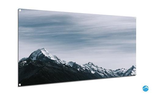 Gebirge Schnee Sky