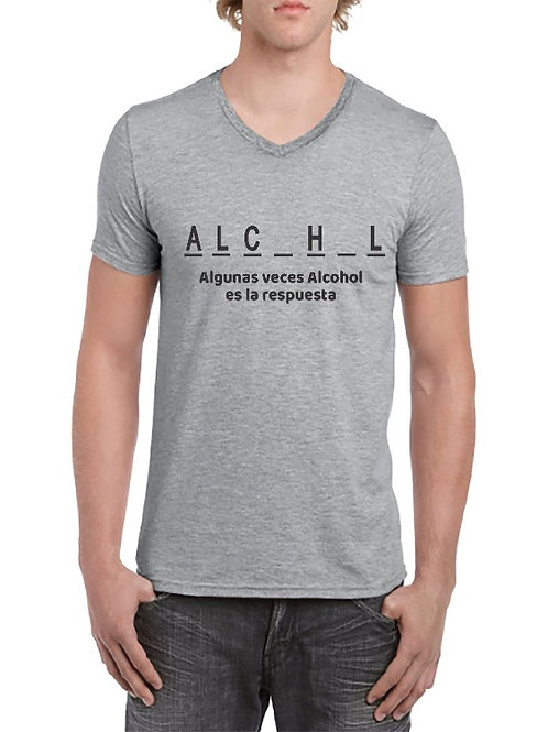 Camiseta Alcohol