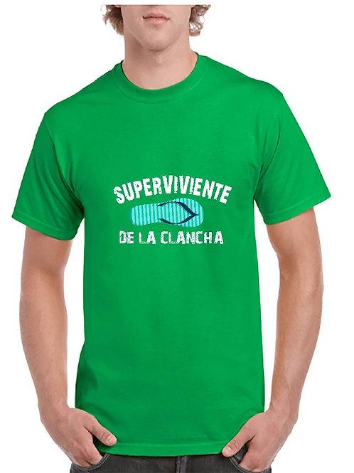 Camiseta superviviente de la chancla
