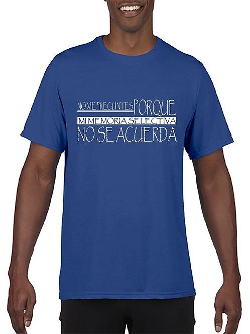 Camiseta No me acuerdo