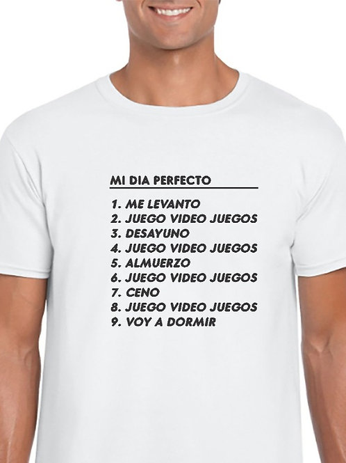 Camiseta dia perfecto