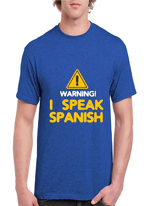 Camiseta I speak Spanish
