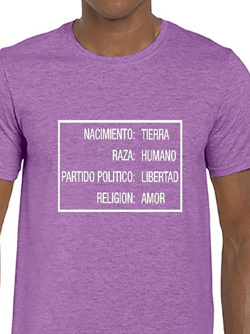 Camiseta Religión Raza Partido