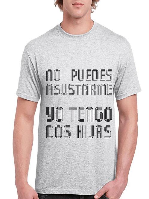 Camiseta Asustarme