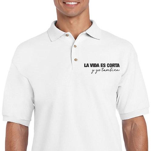 Camiseta La vida es corta