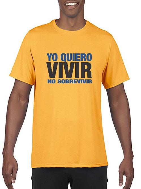 Camiseta Yo quiero vivir