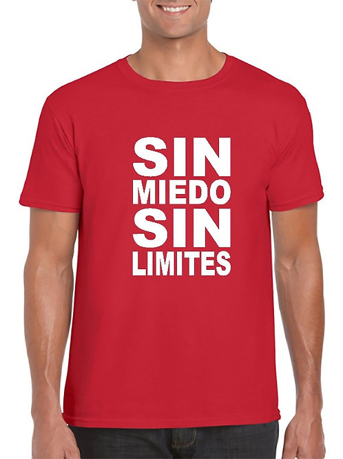 Camiseta Sin miedo