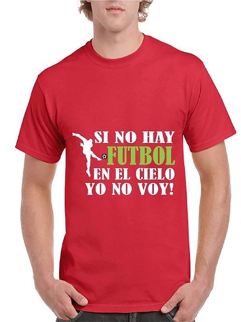 Camiseta Futbol en el cielo