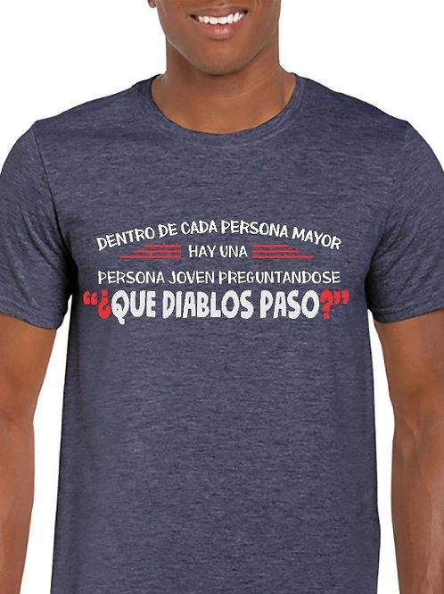 Camiseta Que paso?