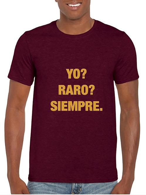 Camiseta Raro