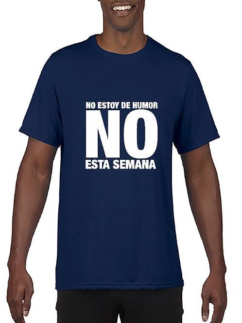 Camiseta No estoy de amor esta semana